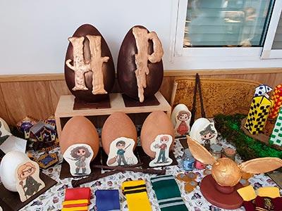 decoracion pascua harry potter