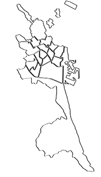 Mapa Valencia y alrededores