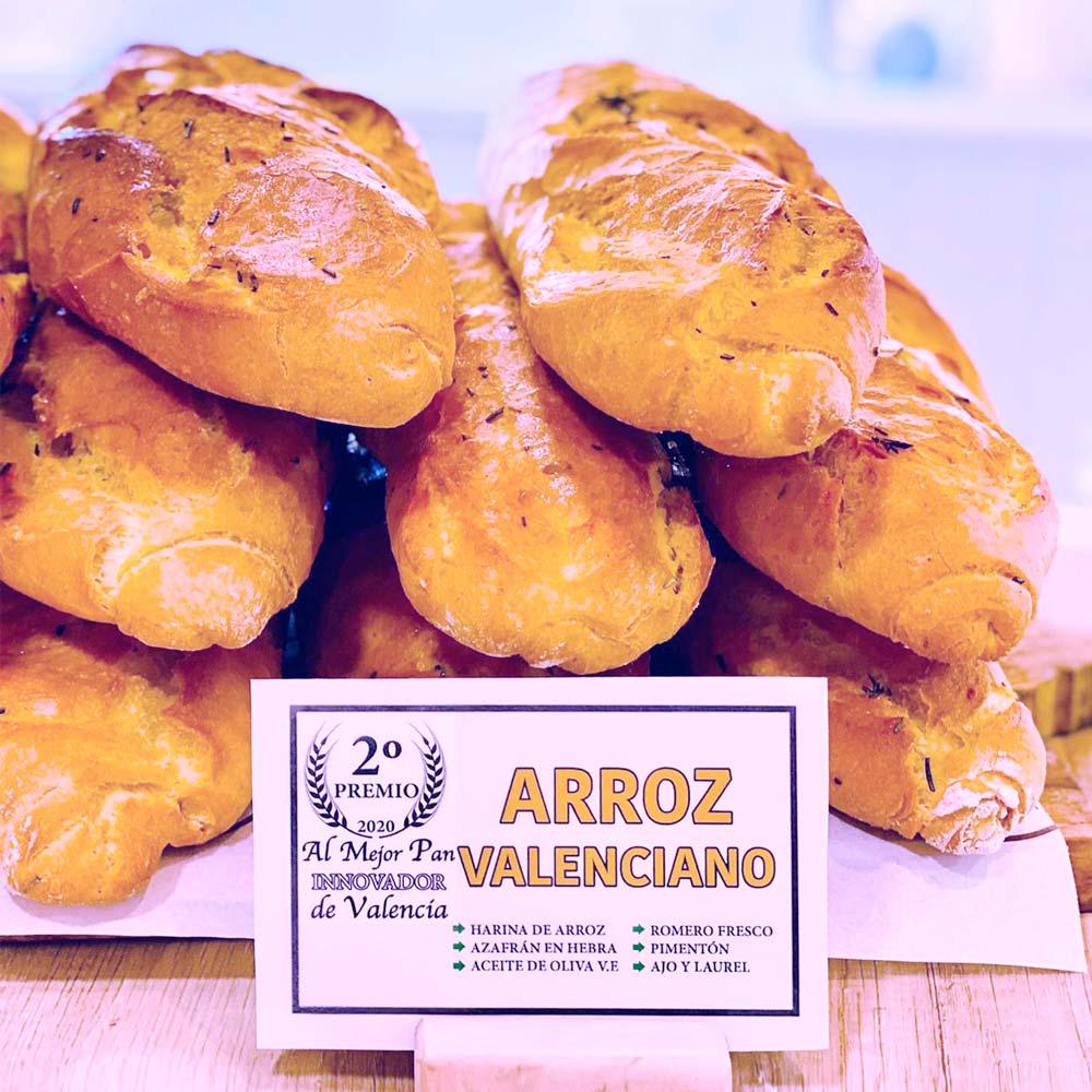 premio pan de arroz valenciano